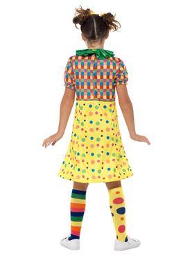 Girls Clown Costume - Side View