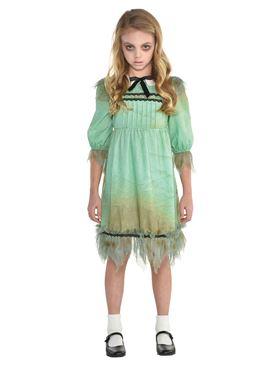 Girls Creepy Girl Costume
