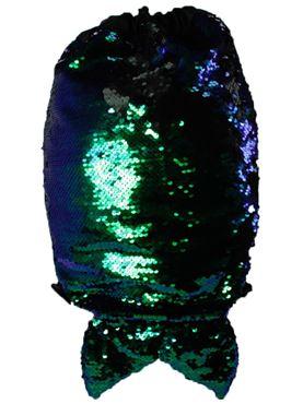 Girls Reversible Sequin Fishtail Drawstring Bag