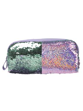 Girls Reversible Sequin Pencil Case