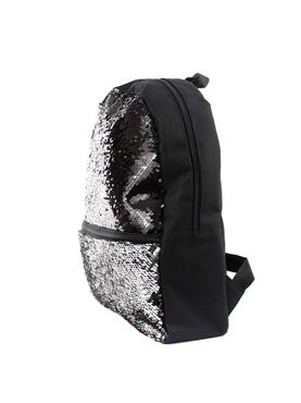 Girls Reversible Sequin Roxy Backpack - Back View