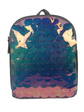 Girls Scalloped Panel Backpack