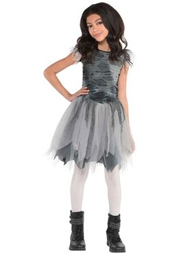 Girls Zombie Dress