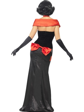 Adult Glam Vampiress Costume - Side View