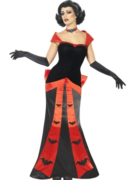 Adult Glam Vampiress Costume