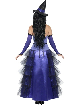 Adult Glamorous Witch Costume - Side View