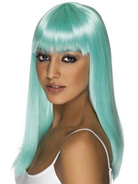 Glamourama Wig Neon Blue
