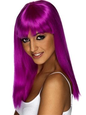 Glamourama Wig Neon Purple