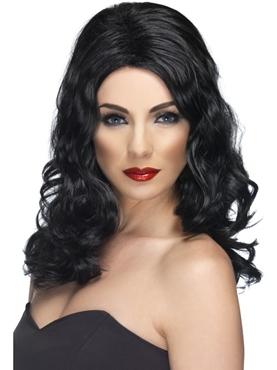 Glamourous Wig Black
