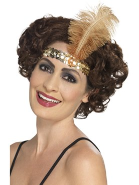 Gold Flapper Headband