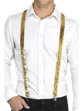 Gold Sequin Braces