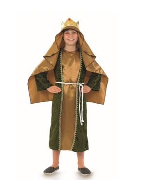 Child Gold Wise Man Costume