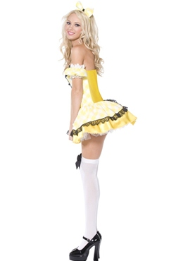 Adult Goldilocks Costume - Side View