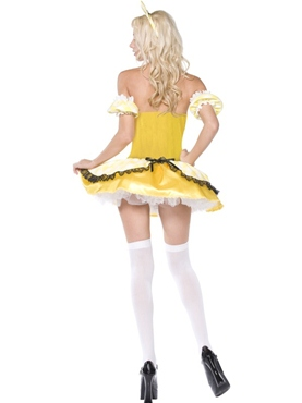 Adult Goldilocks Costume - Back View