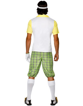 Adult Gone Golfing Costume - Back View
