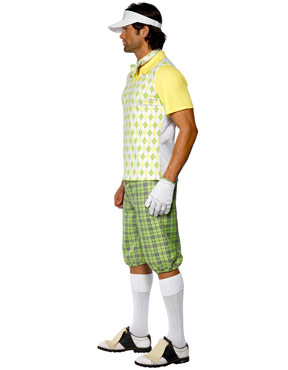 Adult Gone Golfing Costume - Side View