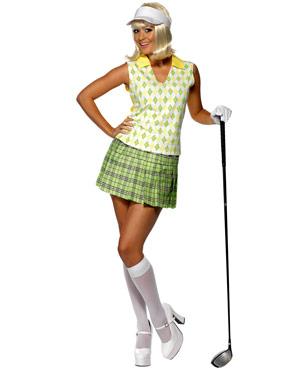 Adult Gone Golfing Ladies Costume