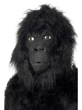 Gorilla Mask Rubber