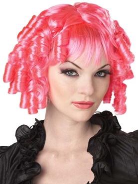 Gothic Doll Hot Pink Wig