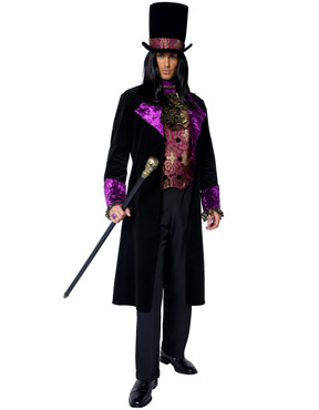 Adult Deluxe Gothic Manor Count Costume Thumbnail