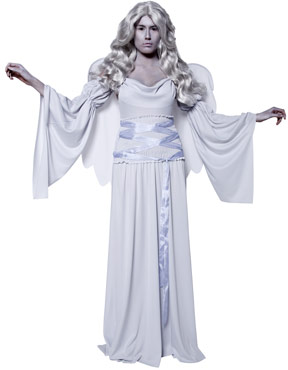 Adult Gothic Manor Cemetery Angel Costume