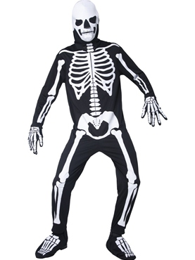 Adult Glow in the Dark Bones Costume Couples Costume