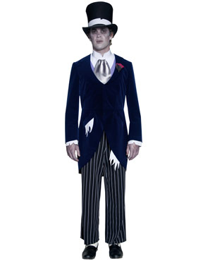 Adult Gothic Manor Groom Costume Thumbnail