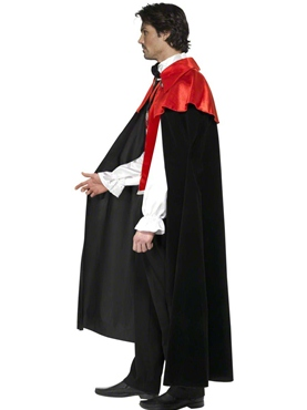 Adult Gothic Manor Vampire Costume - Side View