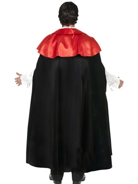 Adult Gothic Manor Vampire Costume - Back View