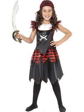 Child Gothic Pirate Costume