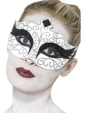 Adult Gothic Swan Eyemask