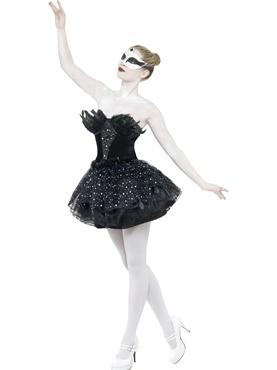 Adult Gothic Swan Masquerade Costume