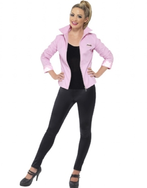 Adult Deluxe Grease Pink Lady Jacket