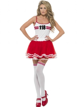 Adult 118 Marathon Runner Woman Costume