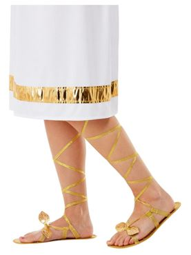 Grecian Lace Up Sandals