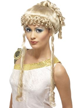 Greek Goddess Wig - Back View