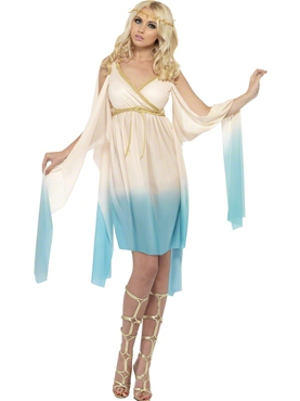 Adult Fever Greek Princess Fade In Costume