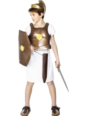 Child Greek Soldier Armour