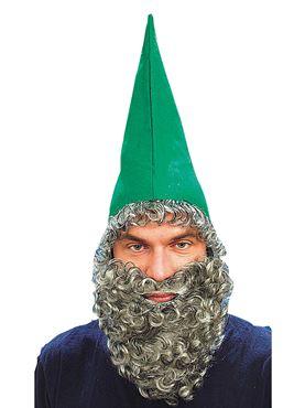 Green Dwarf Hat with Beard