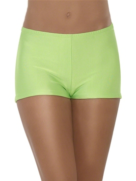 Green Hot Pants