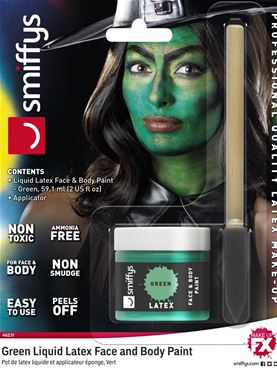 Green Liquid Latex Kit - 46231 - Fancy Dress Ball