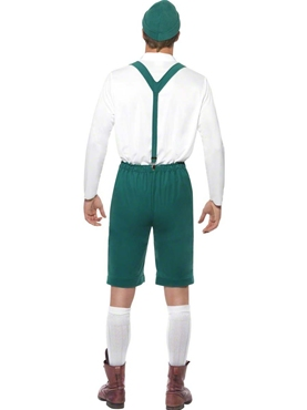 Adult Oktoberfest Beer Man Costume - Side View