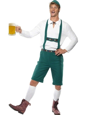 Adult Oktoberfest Beer Man Costume