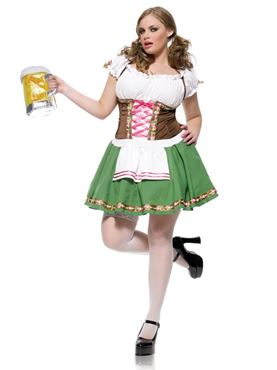 Adult Gretchen Maid Costume