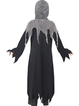 Child Grim Reaper Costume - Side View