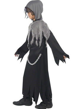 Child Grim Reaper Costume - Back View