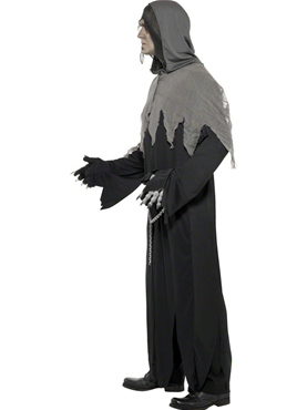 Adult Grim Reaper Costume - Back View