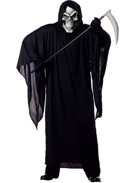 Adult Plus Size Grim Reaper Costume