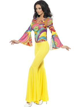 Adult Groovy Baby Costume - Side View
