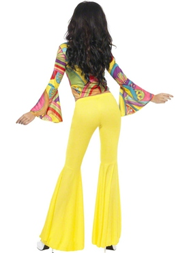 Adult Groovy Baby Costume - Back View